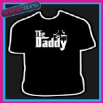 THE DADDY NEW DAD FATHER GIFT TSHIRT